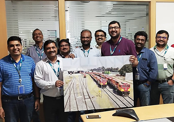 Managing V.U.C.A world at GE Transport